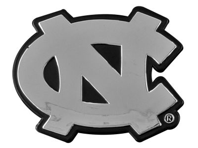 North Carolina Tar Heels Metal Auto Emblem