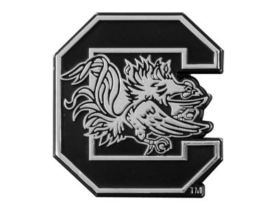 South Carolina Gamecocks Metal Auto Emblem