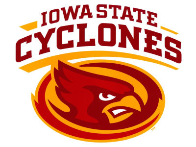 Iowa State Cyclones Moveable 12x12 Decal