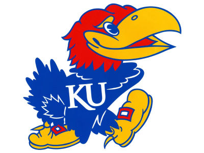 Kansas Jayhawks Moveable 12x12 Decal