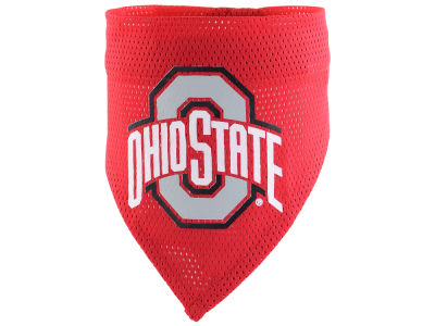 Ohio State Buckeyes Pet Bandana L/XL