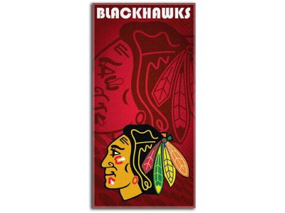 Chicago Blackhawks Beach Towel Emblem