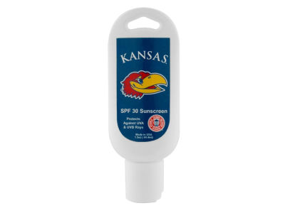 Kansas Jayhawks Sun Screen SPF 30 1.5oz