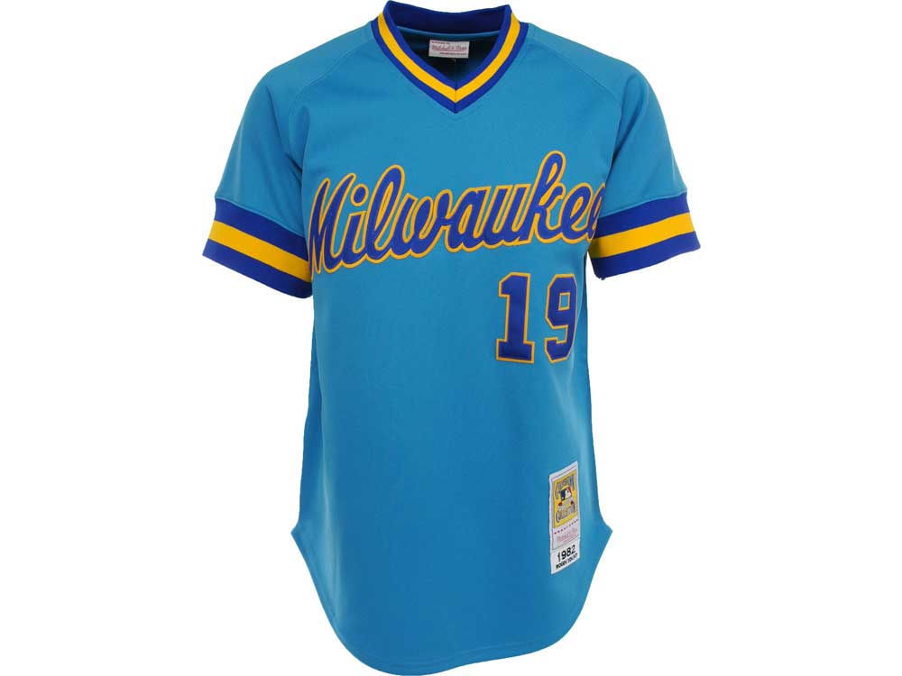 e62a8336c2a Milwaukee Brewers Robin Yount Mitchell   Ness MLB Men s Authentic Jersey