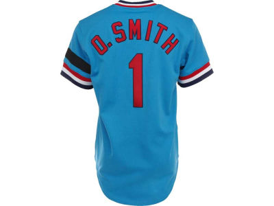 St. Louis Cardinals Ozzie Smith Mitchell & Ness MLB Men's Authentic Jersey