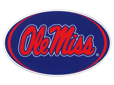 Ole Miss Rebels 8in Car Magnet