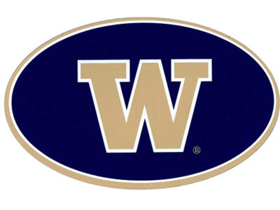Washington Huskies 8in Car Magnet