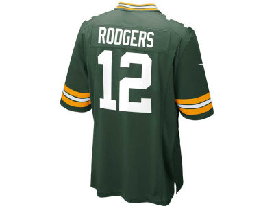 Green Bay Packers Aaron Rodgers Nike NFL Men's Game Jersey