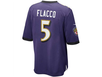 Baltimore Ravens Joe Flacco Nike NFL Men's Game Jersey