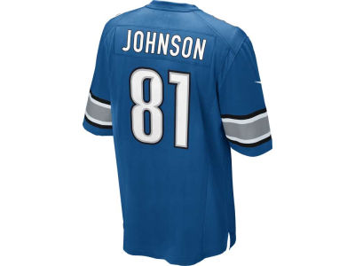 Detroit Lions Calvin Johnson Nike NFL Men's Game Jersey