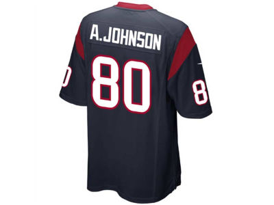 Houston Texans Andre Johnson Nike NFL Men's Game Jersey