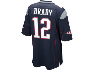 New England Patriots Tom Brady Nike NFL Men's Game Jersey
