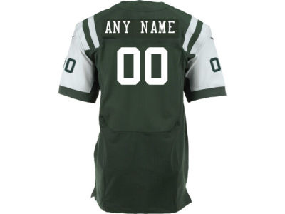 New York Jets Nike NFL Elite Custom Jersey