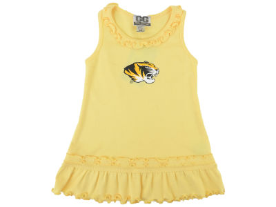 Missouri Tigers NCAA Newborn Ruffle Tank Dress
