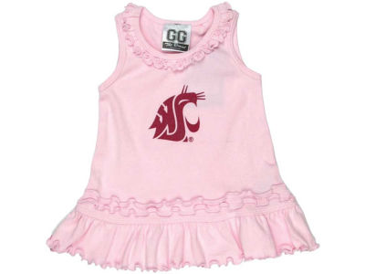 Washington State Cougars NCAA Newborn Ruffle Tank Dress