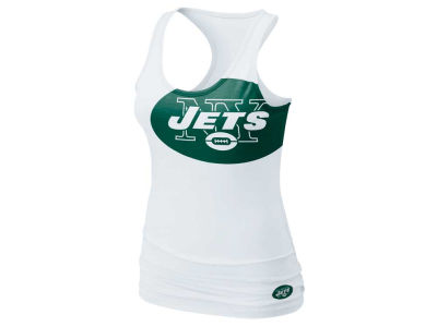 New York Jets Nike NFL Womens Tri Big Logo Tank