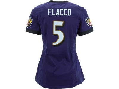 Baltimore Ravens Joe Flacco Nike NFL Women's Game Jersey