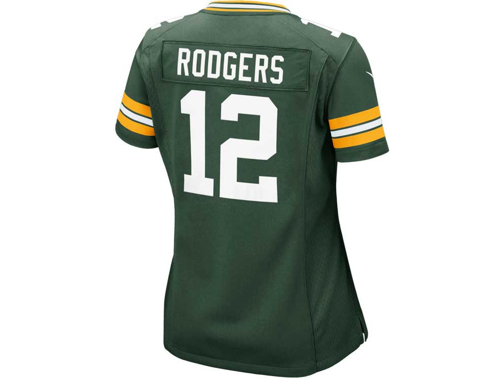 Green Bay Packers Aaron Rodgers Nike NFL Women s Game Jersey  9a70f5018