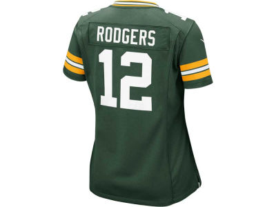 Green Bay Packers Aaron Rodgers Nike NFL Women's Game Jersey