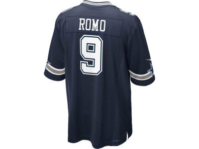 Dallas Cowboys Tony Romo Nike NFL Men's Game Jersey