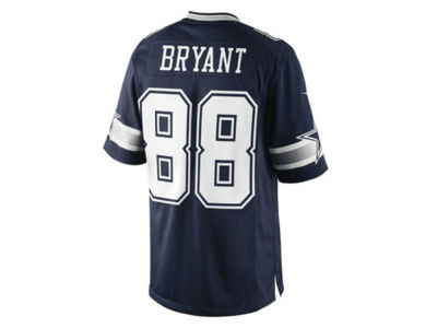 Dallas Cowboys Dez Bryant NFL Game Jersey Extended Size
