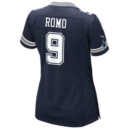 Dallas Cowboys Tony Romo Nike NFL Women's Game Jersey