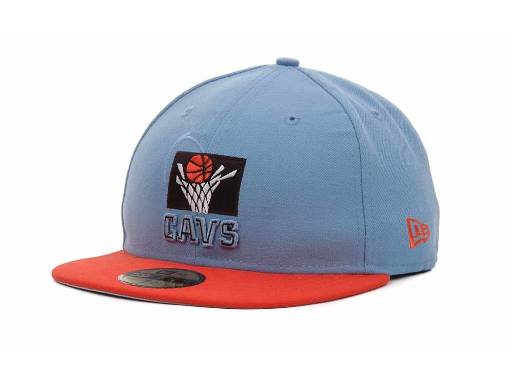 free shipping 3c97c cfb80 best price rose gray cleveland cavaliers nba hardwood classics deez neon  new era 59fifty cap 20799 d078f