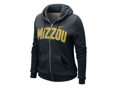 Missouri Tigers Nike NCAA Womens Classic Full Zip Hoodie