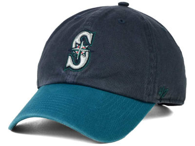 Seattle Mariners '47 MLB On-Field Replica '47 CLEAN UP Cap