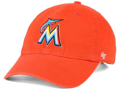 Miami Marlins '47 MLB On-Field Replica '47 CLEAN UP Cap