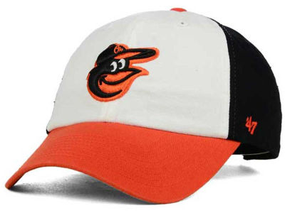 Baltimore Orioles '47 MLB On-Field Replica '47 CLEAN UP Cap