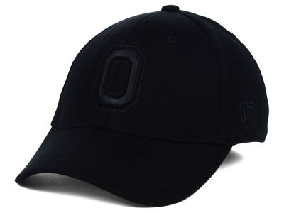 Ohio State Buckeyes Top of the World NCAA Black Tonal PC Cap