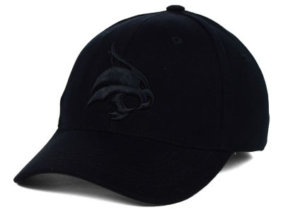 Texas State Bobcats Top of the World NCAA Black Tonal PC Cap
