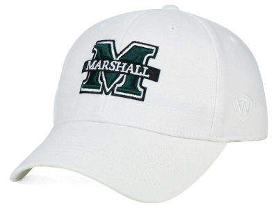 Marshall Thundering Herd Top of the World NCAA White PC Cap