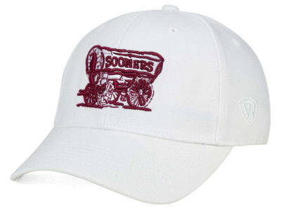 Oklahoma Sooners Top of the World NCAA White PC Cap