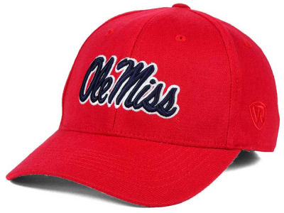 Ole Miss Rebels Top of the World NCAA Team Color PC Cap
