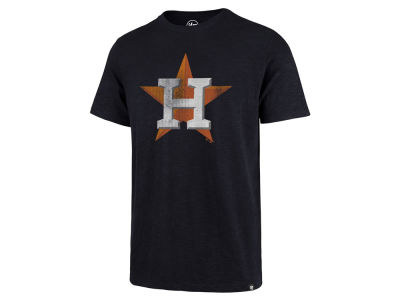 Houston Astros '47 MLB Men's Scrum Logo T-Shirt