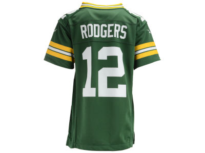 Green Bay Packers Aaron Rodgers Nike NFL Youth Game Jersey