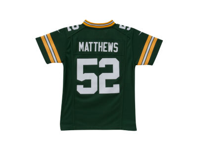 Green Bay Packers Clay Matthews Nike NFL Youth Game Jersey