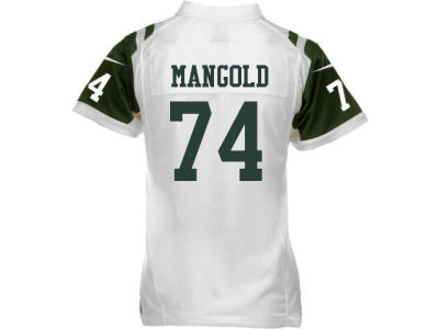 New York Jets Nick Mangold Nike NFL Youth Game Jersey