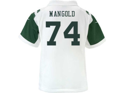 New York Jets Nick Mangold Nike NFL Kids Game Jersey