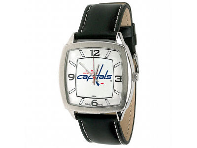 Washington Capitals Retro Leather Watch