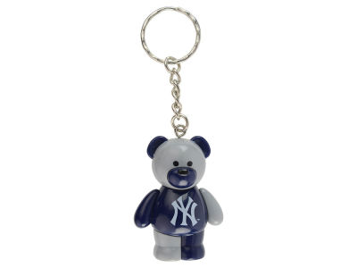 New York Yankees PVC Bear Keychain
