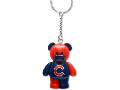 Chicago Cubs PVC Bear Keychain