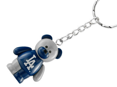 Los Angeles Dodgers PVC Bear Keychain