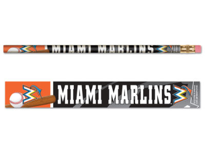 Miami Marlins 6-pack Pencils
