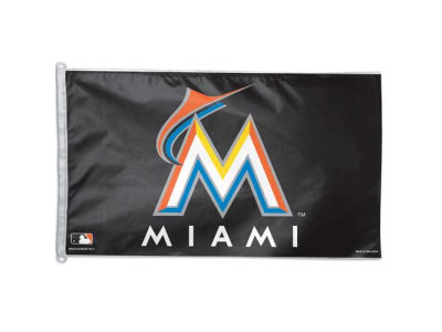 Miami Marlins 3x5ft Flag