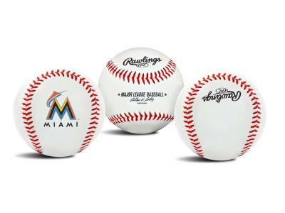 Miami Marlins The Original Team Logo Baseball