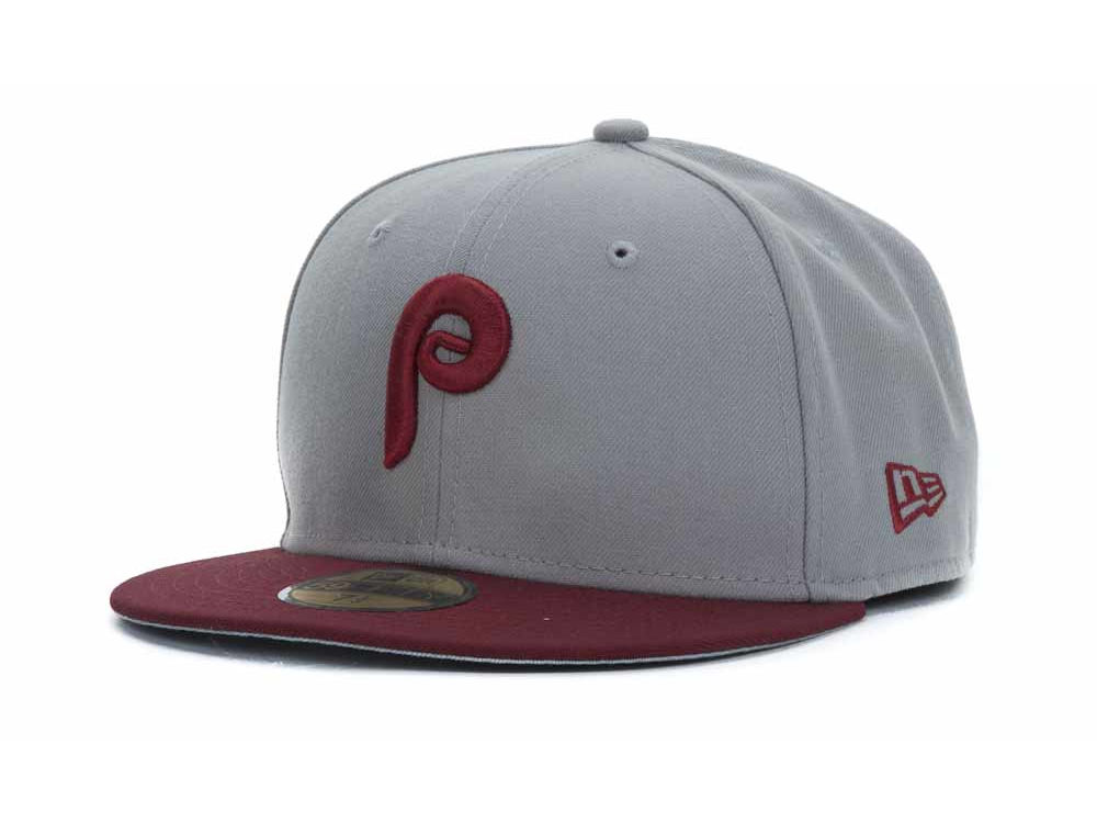 Philadelphia Phillies New Era MLB Cooperstown 59FIFTY Cap  98078c2b44c