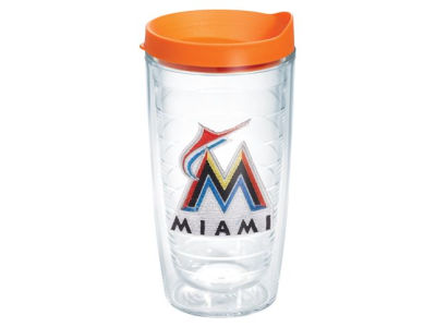 Miami Marlins 16oz Tervis Tumbler